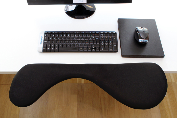 Carpal Tunnel Mouse Works Well With Ergonomic Pad And Wrist Support Arm Rest